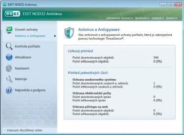 NOD32 Antivirus 4.0 licence na 1 rok
